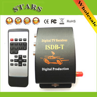 Wholesale Digital Car Mobile TV Tuner Receiver ISDB T Set Top Box Antenna ISDB T BRAZIL CHILE South America Dropshipping