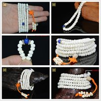 ar china - Black white wishful Pu Tizi fashion jewelry providence Bodhi prayer beads bracelet couple models birthday present religious ar