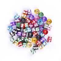 Wholesale 300 European Stylish Chromatic Aluminum Tube Spacer Beads For DIY Jewelry Making mm
