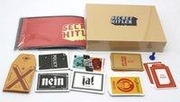 Wholesale 2016 newest item secret hitler game cards Kickstarter Edition Board Game DHL