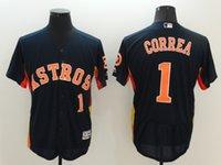 astro baseball - 1 Carlos Correa New Arrivals MLB Mens Houston Astro Navy Blue Alternate Stitched Baseball Jerseys Free Drop Shipping lymmia Mix order