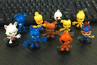 Wholesale FNAF Five Nights At Freddy figure Bobblehead keyChain Fazbear Possessed Fredbear Golden PVC Action Figures Toy