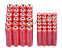 aa alkaline - Power Source Rechargeable Batteries x AA mAh x AAA mAh V NiMH Red Color Rechargeable Battery Cell A A