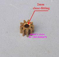 Wholesale 10pcs metal gear modulus teeth bore diameter mm copper gear for gear box