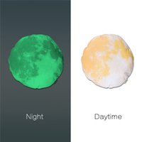 Wholesale 44cm Cute Creative Luminous Pillowcase Fluorescent Christmas Moon Birthdaystuffed Gift Noctilucent Pillows cover