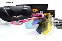 Wholesale 2016 NEW Project TRALYX Sunglasses Mens With Boxes Rudy Glasses Sports glasses riding Polarizing Cycling Eyewear