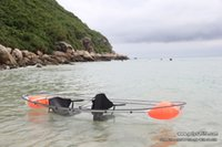 kayak - SUN LIFE Transparent Kayak Clear Canoes with Oars Paddles