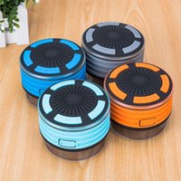 Wholesale F013 Bluetooth Speaker LED Waterproof FM Radio portable Wireless Speakers Subwoofer Car Handsfree Call Music iOS Android Phone lt no track