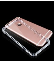 Wholesale For iPhone plus Plus S Case Shockproof Hybrid Full Protection TPU Clear Cases Cover