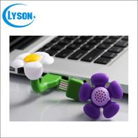 airs daisies - Mini Flower Shape Portable USB Daisy Fragrance Aroma Diffuser Car Scented Oil Air Freshener Essential Oil Diffuser
