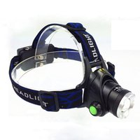 Wholesale New Lumen XM L T6 LED Zoomable Headlight Head Torch Lamp Headlamp Flashlight modes Camping Fishing Climbing lamp