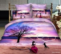 Wholesale D Bedding Set set Cotton Flower Pattern King Size sets