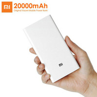 Wholesale Original Xiaomi Power Bank mAh Portable Charger Dual USB Mi External Battery Bank for Mobile Phones and Tablets