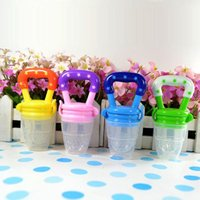 Wholesale Baby Infant Food Nipple Feeder Silicone Pacifier Fruits Feeding Tool Supplies L00020 OST