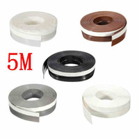 Wholesale 5 Meters mm Self Adhesive Draught Excluder Strip Window Door Sealing Tape Adhesive Tape Rubber Weather Strip Colors