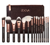 Wholesale hot sell COMPLETE MAKEUP BRUSH SET Professional Luxury Set Make Up Tools Kit ZOEVA ROSE GOLDEN Powder Blending brushes
