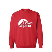 alpine fashion - Hoodie sweatshirt product LOWE ALPINE fashion cotton round collar men sport leisure pullover