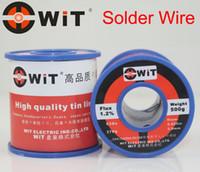 Wholesale Japan WiT Brand g Solder Welding Wire For Solder Iron Low Melting Temperature Non halogen Non corrosive Non splash Tin line