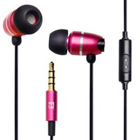 best operations - Original best brand metal in ear earphone with mic and control operation m for samsung xiao mi and iphone with gift box