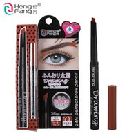 automatic drawing - 1Pcs HengFang Drawing Eyebrow Automatic Pencil Hours Long Lasting Waterproof Colored Pencils Eye Enhancer g H6502