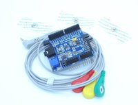 Wholesale Duinopeak ECG EKG EMG Shield for Arduino with Cables and Electrodes