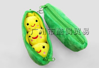 bean bag animals - green pea doll Beans doll Plush Stuffed Keychain toy bag Pendant doll cm
