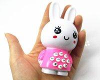 Wholesale Mini rabbit story machine baby infant early childhood learning benefits emitting strange new toy wisdom