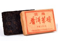 Wholesale Freeshipping tea g puer brick instock more than years Old puerth tea health care puer shu chinese tea