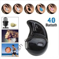 Wholesale In Ear Sport S530 Mini Stealth Wireless Bluetooth Earphone Stereo Headphones music Headset with Retail Box For iPhone Samsung HTC Call