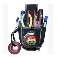 Wholesale Brand New in1 Electricians Waist Pkt Tool Belt Pouch Bag Screwdriver Carry Case Holder Outdoor Working Tool Belt Pouch