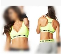 Wholesale 2016 new Women s clothing Yoga fitness dance sports bra double layer corset underwear pros and cons of double faced top