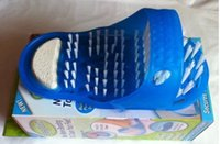Wholesale New Easyfeet Easy Feet Foot Scrubber Brush Massager Clean Bathroom Foot Cares Supply One Pieces one Retail Box