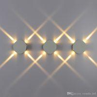 Wholesale Fashion furniture cross shaped star lights LED Wall Lamps for bedside lights night lights simple design LED indoor corridor lights