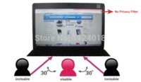 Wholesale ree Shipping M Privacy Filter For quot Inch Widescreen LCD Display Desktop Computer Monitor filter baskets shipping pa