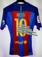 Wholesale 1617 player version la liga messi neymar suarez top quality