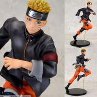 big figurine - 22cm Naruto Action Figures Running Naruto Shippuden The Last Movie Figure PVC Figurine Toys Naruto Anime Japanese Anime Figure