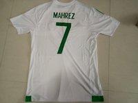 algeria soccer tops - Design custom thai Quality Algeria Home MAHREZ Soccer JerseyS MEN personalized Football Jersey shirts TOP Soccer Wear TOPs