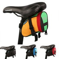 Wholesale New Arrival Roswheel Outdoor Cycling Mountain Bike Bicycle Saddle Bag Back Seat Tail Pouch Package Mult color Seat Bags