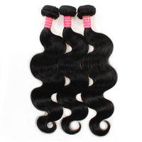 Wholesale Hair Wefts A Virgin hair human brazilian hair body wave