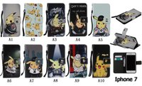 apple card games - Cute Cartoon Game Style Pattern Wallet Card Slots Flip PU Leather Bach Cover Pouch Stand Case For iPhone i7