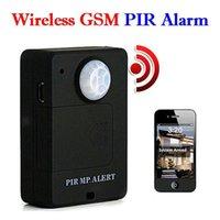 Wholesale Wireless PIR Sensor Motion Detector GSM Alarm System Alert Monitor Remote Control