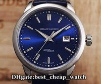 best cheap dates - Super Clone Brand Watch Ingenieur IW323303 Automatic Vine IW323310 Mens Watch Blue Dial With Leather Strap New Luxury Cheap Best Watches