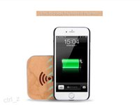 bamboo house - 2016 Bamboo Housing Qi Wireless Charging Pad Bamboo Wood Pattern pad for Samsung S5 S6 NOTE iPhone S plus