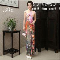 Wholesale 2016 new spring and summer fashion daily cheongsam improved Chinese cheongsam dress retro