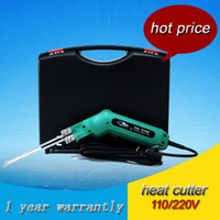 Wholesale 220V W Heavy Duty Electric Hand Held Hot Knife Tool with mm Blade For Foam and Sponge Cutting