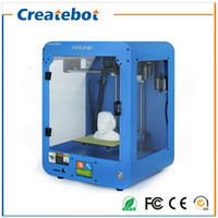 artistic screen - Createbot Mini D Printer fully assembled kits FDM Injection Molded with touch Screen Off line Printing for Artistic Education