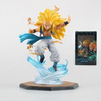 Wholesale 2016 Dragon Ball Z Super Saiyan Gotenks CM Anime PVC Action Figure Collection Model Toys dragonball