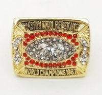 american redskins - 1987 American football Washington Redskin Sale Super Bowl Replica Championship ring material VIP STR0