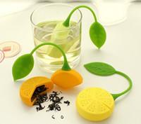Wholesale Hot Sale Creative Lemon Style Silicone Rubber Tea Bag Tea Strainer Tea Infuser Teapot Teacup Filter Bag Cup Coffee Mug