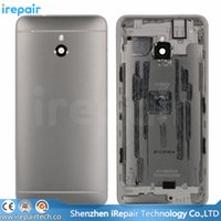 Wholesale iReapair Original New Back Cover Battery Door Housing Case with Buttons for HTC One mini M4 Black Silver
